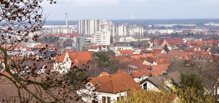 Blick auf Dietzenbach
